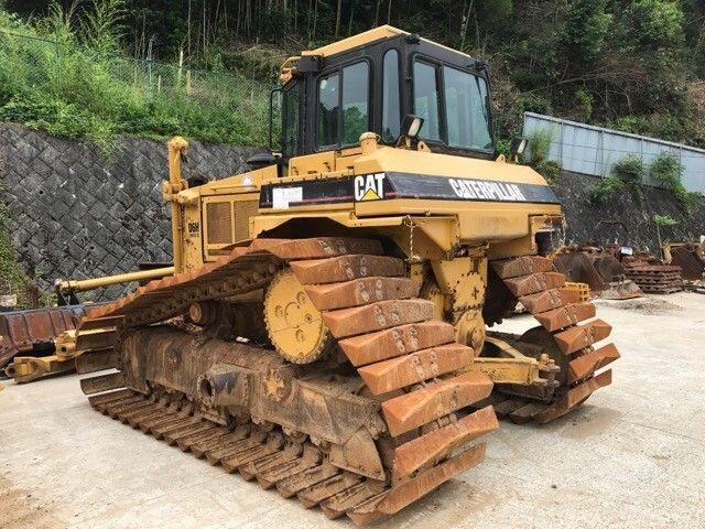 รถดันดิน CAT D6H 1KD04224 เก่าญี่ปุ่น สภาพสวย ราคาถูก