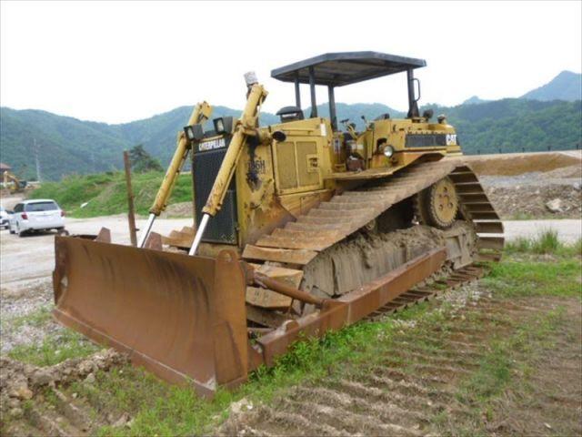ขายรถแทรคเตอร์ CAT D6H 8FC04374 เก่าญี่ปุ่นแท้ ราคาโดนใจ