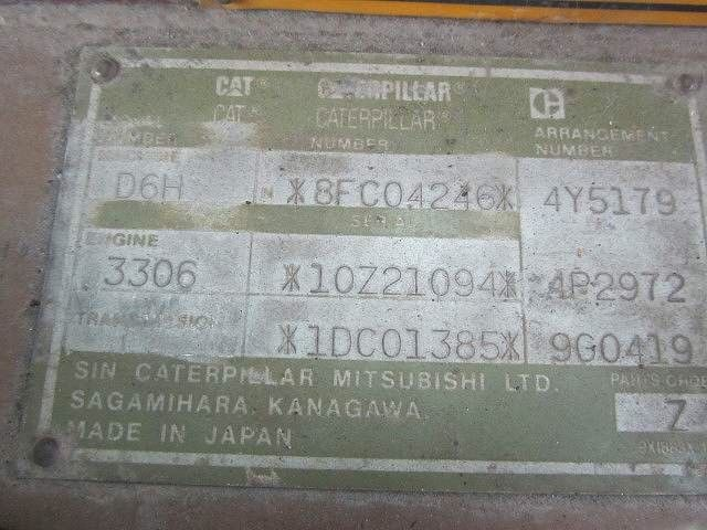 CAT D6HLGP-8FC04246 รถแทรคเตอร์..ขายถูก นำเข้าจากญี่ปุ่นแท้