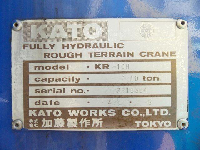 รถเครน KATO KR10H-2510354 รถนอกขายถูก