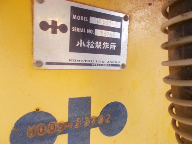 รถตักล้อยาง KOMATSU WA100-1-33762 รถนอก..ขายถูก