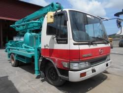 ขายรถปั๊มปูน HINO ติดตั้ง ปั๊มปูนยี่ห้อ IHI รุ่น IPH50HB-2N16