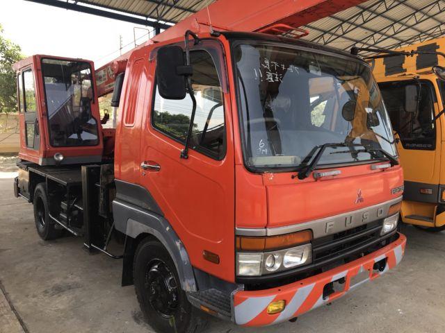 ขายรถเครนหกล้อ MITSUBISHI เครน TADANO TS75M-1 เก่าญี่ปุ่น