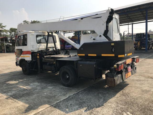 ขายรถเครนหกล้อ NISSAN UD เครน TADANO TS75M1 เก่าญี่ปุ่น รถนอก..ขายถูก