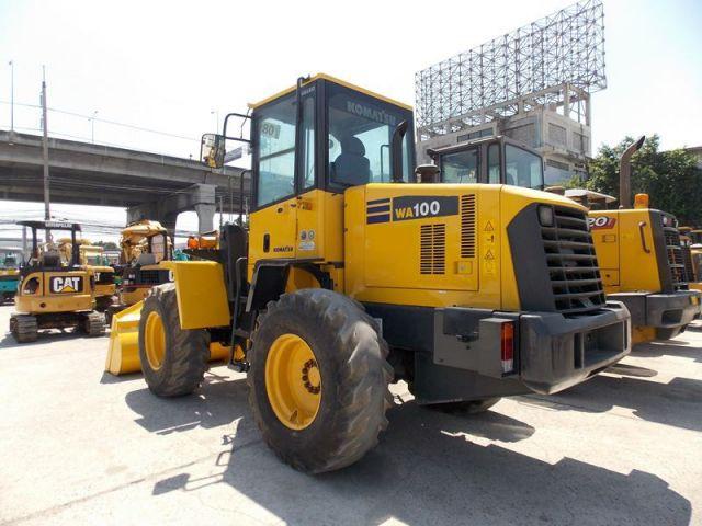 ขายรถตักล้อยาง KOMATSU WA100-5-72184