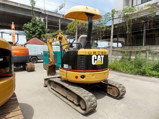 ขายรถแมคโค CAT 303CR-2 CAR03749 รถนอก..ขายถูก