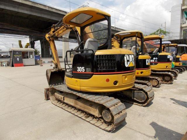 ขายรถแมคโค CAT 305SR-DCR01231 รถนอก..ขายถูก