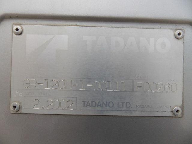 ขายรถเครน TADANO GR120N-1 FD0260 รถนอก..ขายถูก