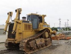 ขายรถแทรคเตอร์ CAT D8R เก่าญีปุ่น สภาพพร้อมใช้งาน