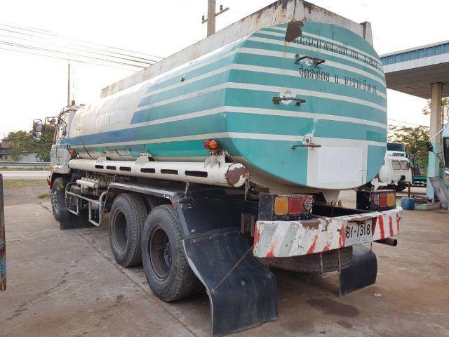 ขายรถสิบล้อเพลาเดียว NISSAN NE6 รถบรรทุกน้ำมัน เหมาะสำหรับทำรถน้ำ ขายถูก