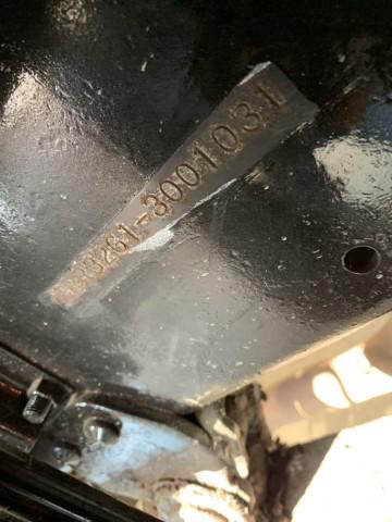 ขายรถสว่าน ISUZU 6HE 195HP นำเข้าจากญี่ปุ่น