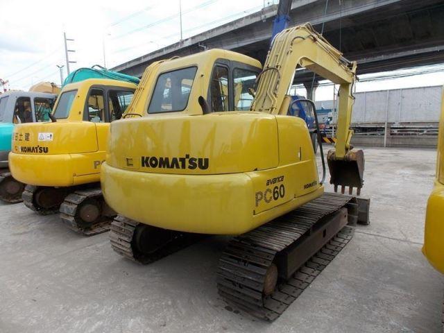 ขายรถแบคโฮ KOMATSU PC60-7-45232 รถนอก..ขายถูก