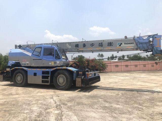 ขายรถเครน TADANO TR250M-6 1997ํY รถนอก..ขายถูก
