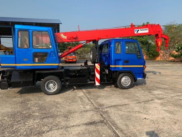 ขายรถเครนหกล้อ ISUZU เครน TADANO TS75M-1