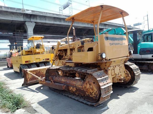 ขายรถแทรคเตอร์ตีนตะขาบ CAT D5B-48X00773 เก่าญี่ปุ่นแท้