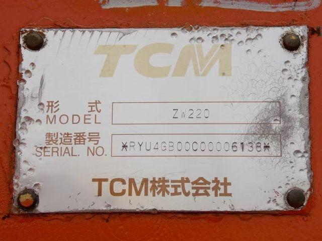 ขายรถตักล้อยาง HITACHI ZW220 นำเข้าจากญี่ปุ่นแท้