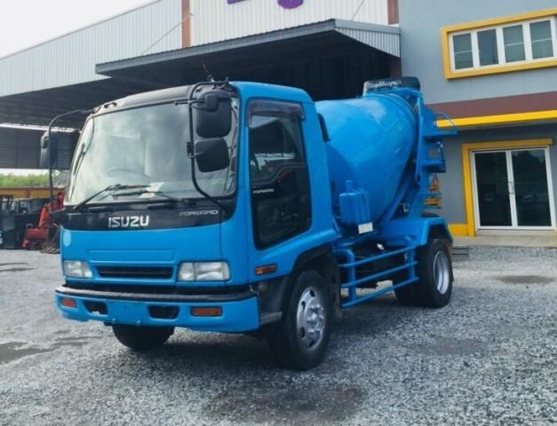 ขายรถโม่ปูน ISUZU DEGA 195 HP นำเข้าจากประเทศญี่ปุ่น