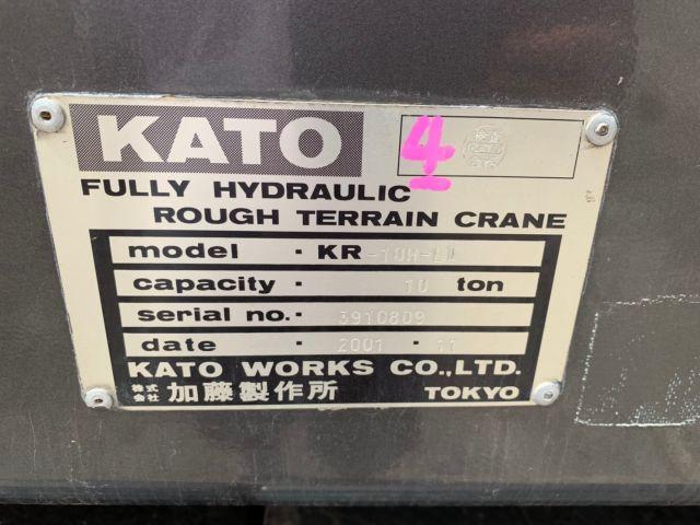 ขายรถเครน KATO KR10ML-II Y.2001 เก่าญี่ปุ่น รถนอก..ขายถูก