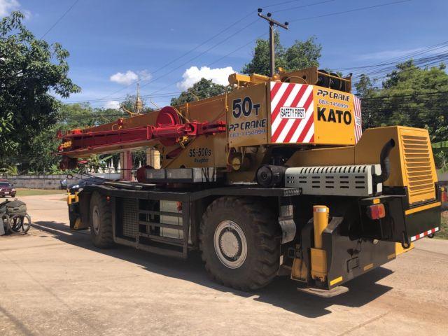 ขายรถเครน 4 ล้อ ขนาด 45 ตัน KATO KR45H-V สภาพพร้อมใช้งาน