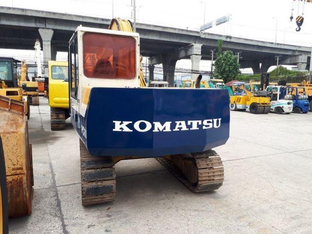 ขายรถแบคโค KOMATSU PC60-6 เก่าญี่ปุ่นแท้ สภาพสวยพร้อมใช้