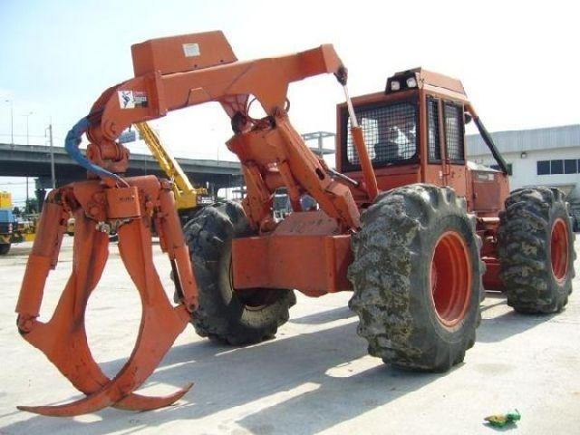 ขายรถคีบ Timberjack 450B