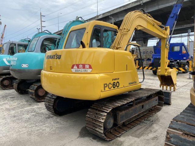 ขายรถแแบคโฮ KOMATSU PC60-7 นำเข้าจากญี่ปุ่นแท้ สภาพพร้อมใช้งาน
