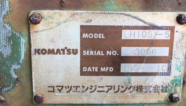 ขายหัวคีบ KOMATSU LH10S-5 ชนิดหมุนได้