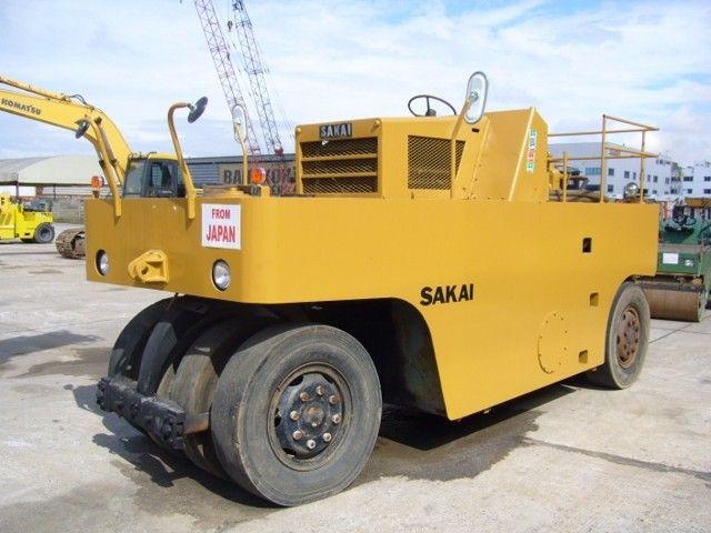 ขายรถบดล้อยางเก้าล้อ SAKAI TS7409-33956